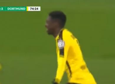 Ousmane Dembele scored the winner tonight.
