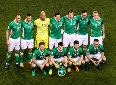 Ireland drew with Wales and lost to Iceland in March.