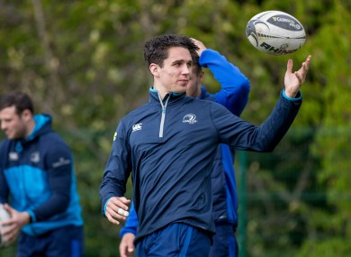 Carbery was man of the match in last weekend's win over Wasps.