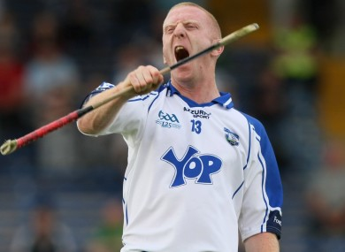 Waterford's John Mullane celebrates winning the Munster semi-final replay in 2009.