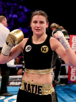 Taylor has won her first four pro bouts.