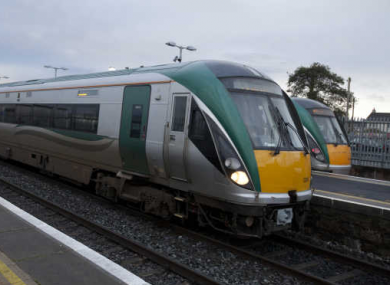 File photo of Irish Rail train