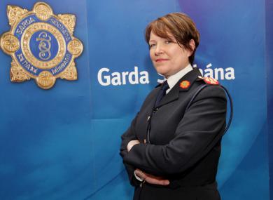 Garda Commissioner Noirín O'Sullivan.