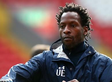 Spurs U23 coach Ugo Ehiogu.