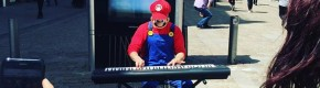 This Cavan man busked as Super Mario to help 'lift the spirits' of the people of Manchester today