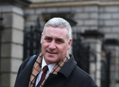 Tusla chief executive Fred McBride