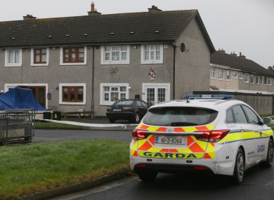 The scene of the murder of Noel 'Duck Egg' Kirwan
