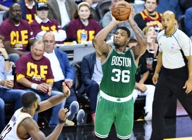 The Boston Celtics' Marcus Smart