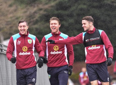 Jeff Hendrick, Robbie Brady and Stephen Ward are among the Burnley stars likely to travel.