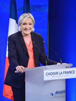 Le Pen was runner up to Emmanuel Macron in the French presidential election.