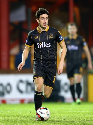 Dundalk goalscorer Jamie McGrath (file photo).
