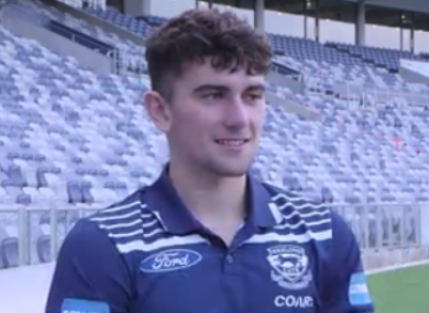 Geelong Cats debutant Mark O'Connor