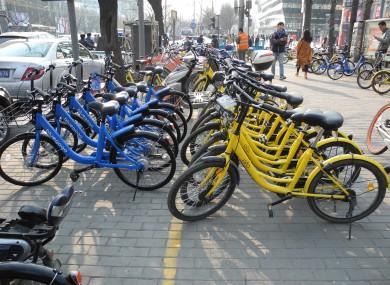 Bike companies are scrambling for market share.
