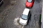 The rain was so bad yesterday it flooded parts of Dublin's north inner city