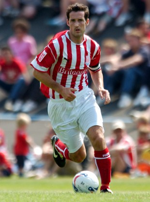 Clarke came through the ranks at Stoke City and went on to captain the club.