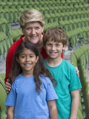 Sports broadcaser Clare Balding pictured at BT Ireland's 'The Difference is You' event which took place at the Aviva Stadium.