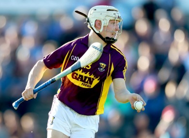 Cathal Dunbar bagged a hat-trick for the Wexford U21 hurlers.
