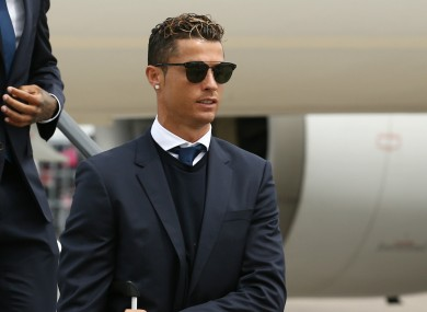 Cristiano Ronaldo has been accused of tax fraud.