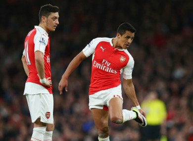 Mesut Ozil and Alexis Sanchez have received criticism for not committing their futures to Arsenal.