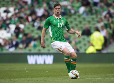 Kevin Long has previously appeared twice for Ireland, making his full international debut against Uruguay last week.