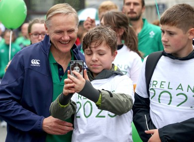 Joe Schmidt asks to get a look at the latest stories on The42.