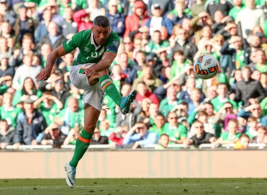 Walters blasts home for Ireland.