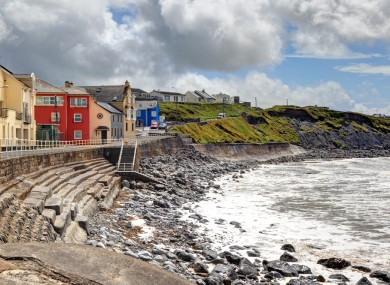 The town currently known as Lehinch, Co Clare - a name many locals wish to revert to 'Lahinch'.