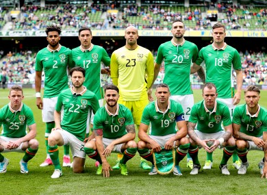 Ireland face Austria in a crucial World Cup qualifier this Sunday.