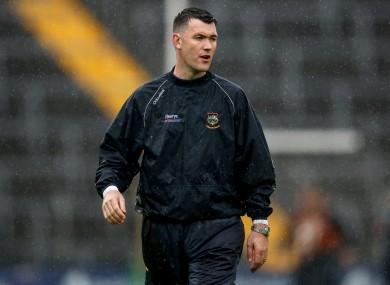Tipp U21 hurling manager William Maher.