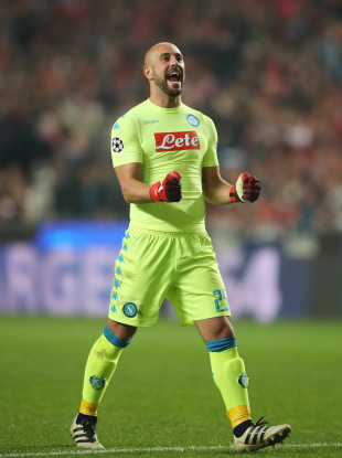Pepe Reina has spent the last two seasons back at Napoli following a year at Bayern Munich.