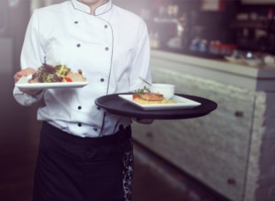 The report notes that many non-EU workers illegally work in the catering industry.