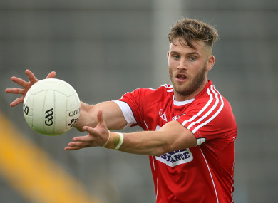 Cadogan is one of five changes for Cork ahead of tomorrow's match.