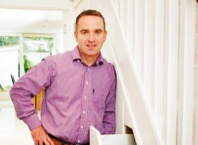 Paul Jacobs, founder and MD of Smart Storage, who's sales team are based in north Co Wicklow.