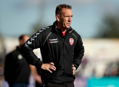 Kenny Shiels' side now sit five points ahead of Shamrock Rovers in a European place.
