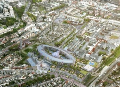 Plans for the new children's hospital at the St James's site.