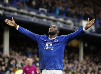 Everton's Romelu Lukaku is set to join Man United.
