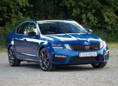 the skoda octavia rs is a car for those who want pace as