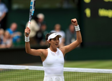 Muguruza is into her second Wimbledon final in three years.