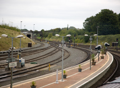 The incident happened close to Drogheda Station.