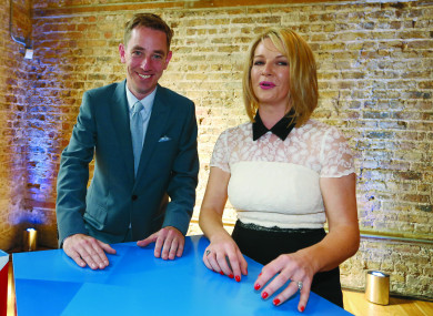 Ryan Tubridy and Claire Byrne.