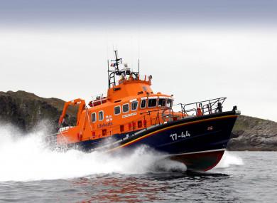 RNLI lifeboat at Castletownbere, West Cork