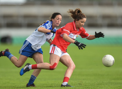 Eimear Scally impressed in Cork's win over Monaghan.