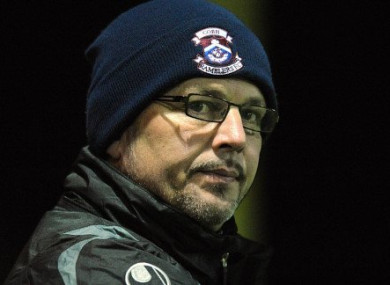 Cobh Ramblers manager Stephen Henderson.