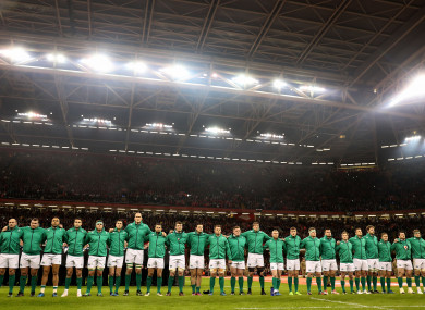 The survey was carried out by Rugby Players Ireland.