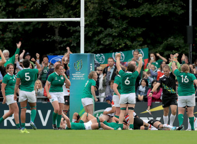Ireland produced a big second half comeback at the Bowl.