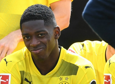 Ousmane Dembele is understood to be keen on leaving Dortmund.