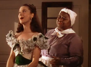 Vivien Leigh and Hattie McDaniel played two of the film's main roles.