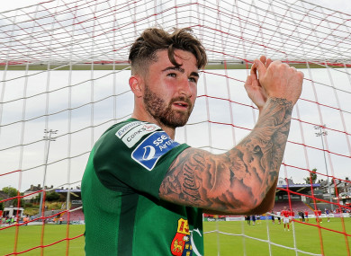 Sean Maguire scored 20 goals for Cork City in the League of Ireland this season before leaving to join Preston.