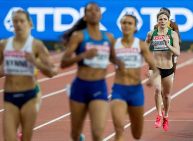 Cléirigh-Buttner: sixth in her heat.