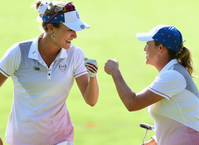 Cristie Kerr and Lexi Thompson.